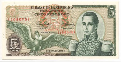 5 pesos 1965