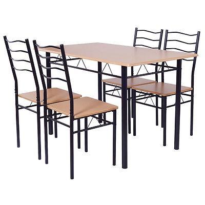 5 Piezas Set De Mesa De Comedor Con 4 Sillas Cocina... - $ 259.990 ...
