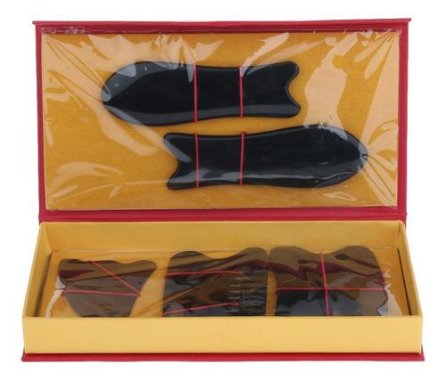 5 piezas tablero guasha accesorios regalo para