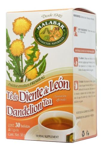 (5 piezas) té diente de leon (30 bolsitas) malabar
