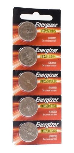 5 pilas cr2032 energizer 3v litio glucometro balanza alarmas