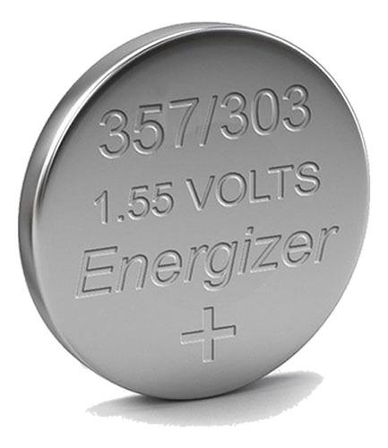 5 pilas reloj 357 303 sr44sw energizer oxido de plata 1.5v