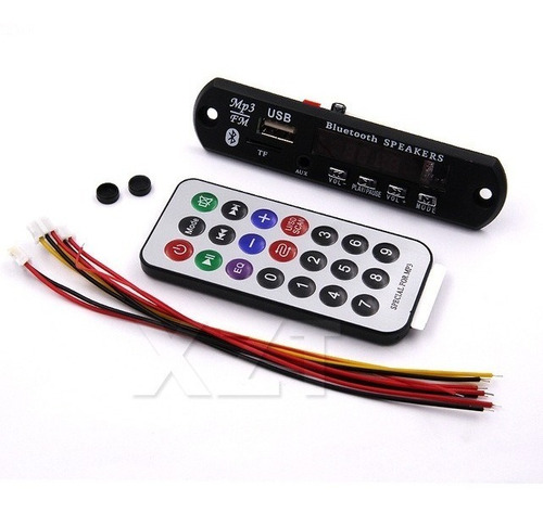 5-placa decodificador usb p/ caixa ativa mp3 fm aux bluetoo