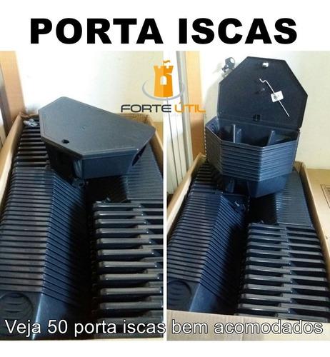 5 porta iscas p/ rato