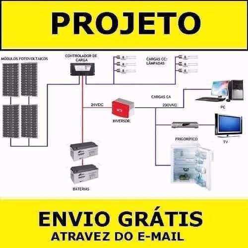 5 projetos gerador eólico 5.500w 3.000w 1500w 1000w + solar