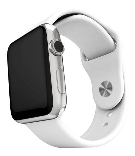 5 pulseras silicona compatible con apple watch medida 38/40