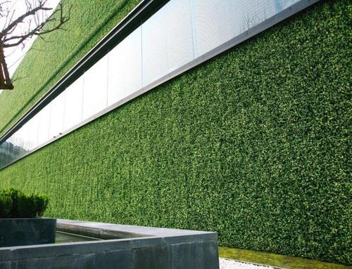5 pz follaje artificial muro verde jardín vertical planta