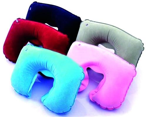 5 pzas almohada inflable para el cuello cómoda y relajante