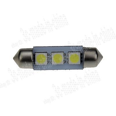 5 Pzas Focos Led Para Interior De Auto Color Blanco 135 00 En