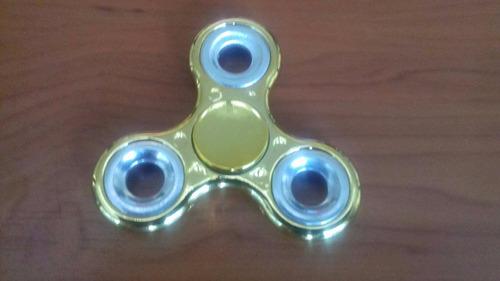 5 pzas spinner fidget aluminio colores metalicos antiestres
