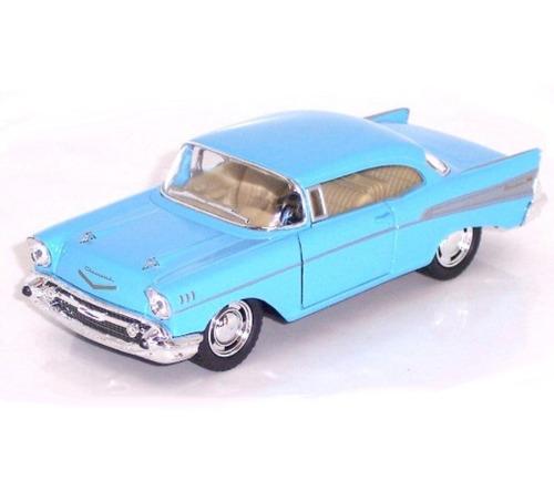 5 & ¿¿quot;  chevy bel air coupe fundido a troquel 1957 (azu