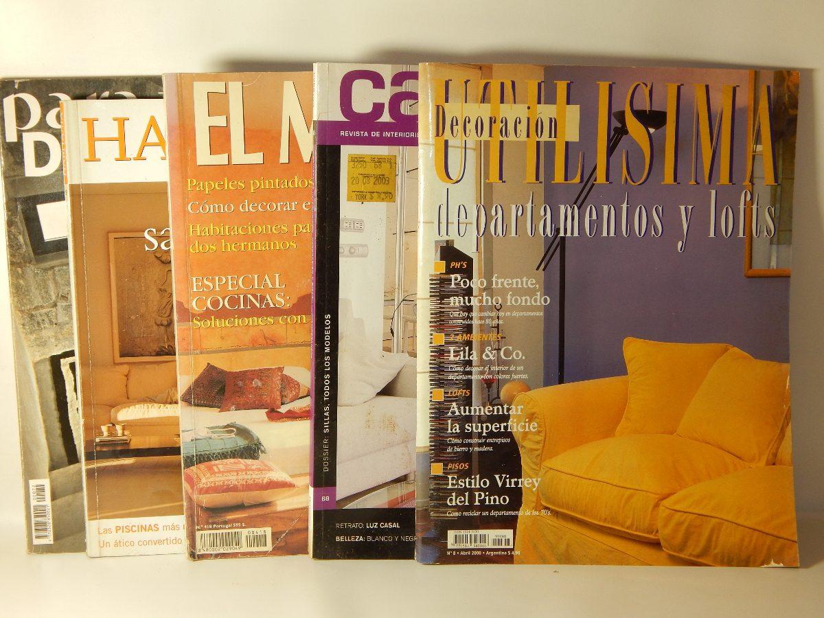 5 Revistas De Decoraci N Y Muebles 200 00 En Mercado Libre # Muebles Cover Decoracion
