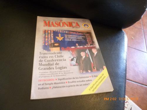 5 revistas masonicas diferentes años (259