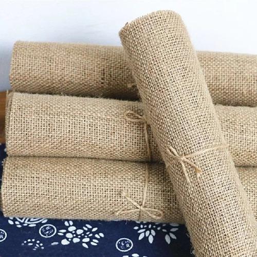 5 rollos  de arpillera para decoración 2mtsx16cm