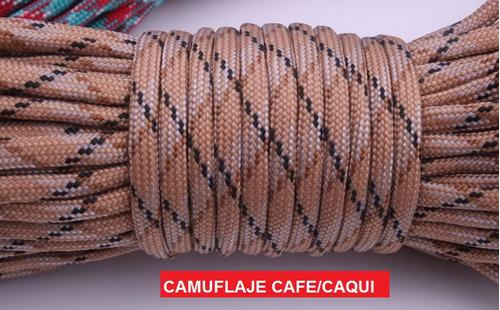 5 rollos de cuerda paracord 31 mts/550 lbs envio gratis