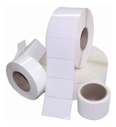 5 rollos etiqueta termica 30 x 20mm 3000 etiquetas