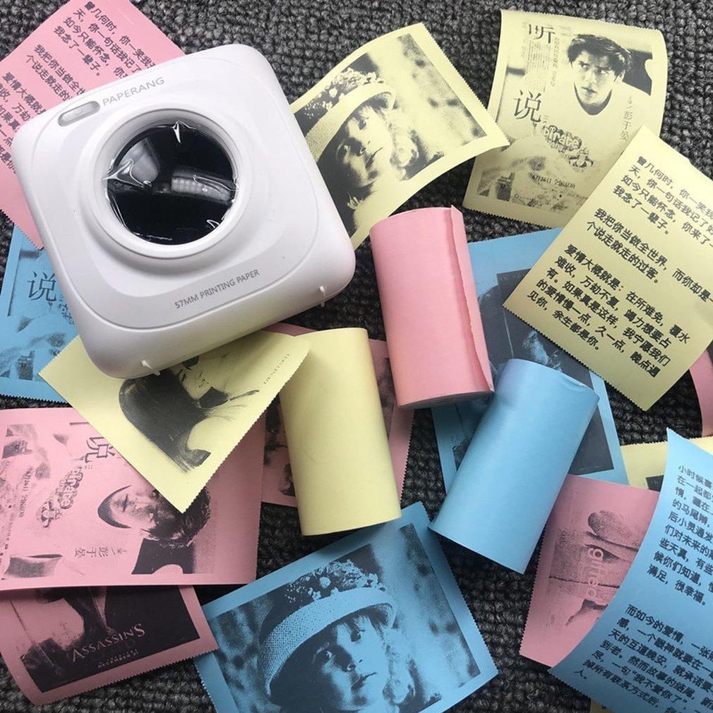 3 rollos//Set de impresi/ón duradera para papel fotogr/áfico Paperang para impresora fotogr/áfica