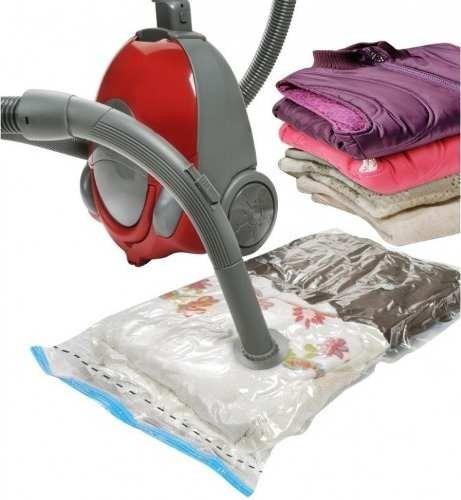 5 saco a vacuo organizador protetor roupa cobertor 60x80 cm