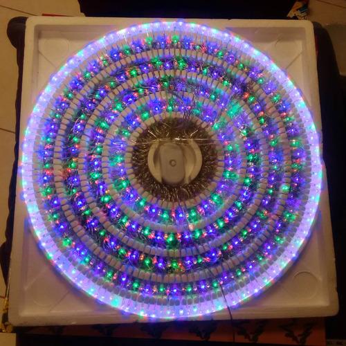 5 series navideñas de 500 focos led multicolor