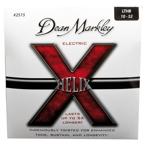 5 sets cuerdas guitarra electrica dean markley helix 10-52