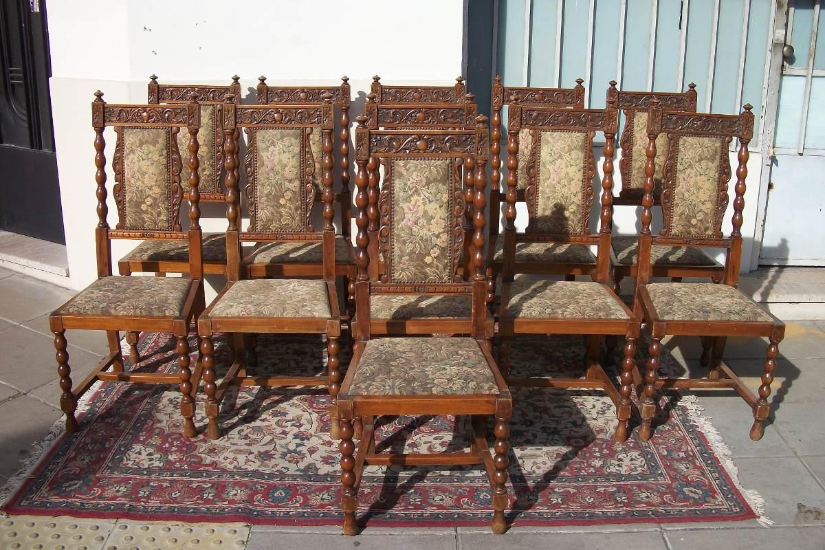 15 hermoso sillas de comedor antiguas im genes mas de for Sillas comedor antiguas