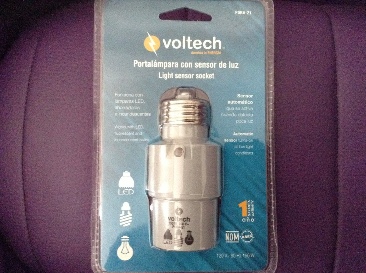 5 socket con fotocelda voltech ahorra luz foco led ahorrador 1 en mercado libre - Focos led con luces de colores ...