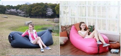 5 sofás puff inflável colchonete mágico - 100% aprovado