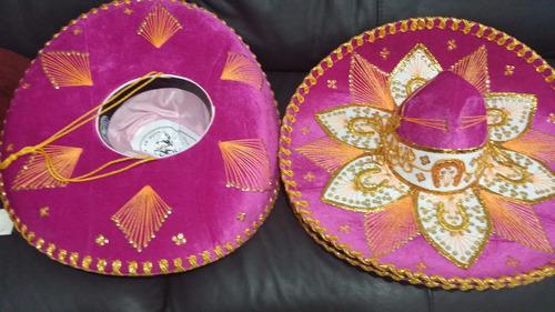 5 Sombrero Charro Mariachi Negro Mexicano Color Adulto Fino ... 705b89c8d19