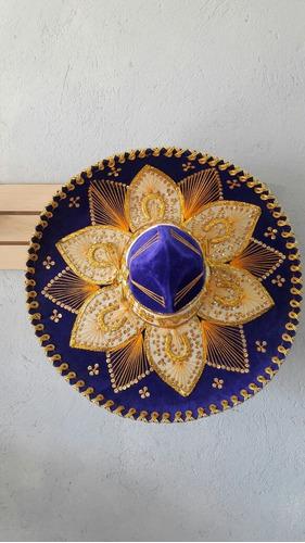5 Sombrero Charro Mariachi Negro Mexicano Color Adulto Fino ... 0ac0583b0e21