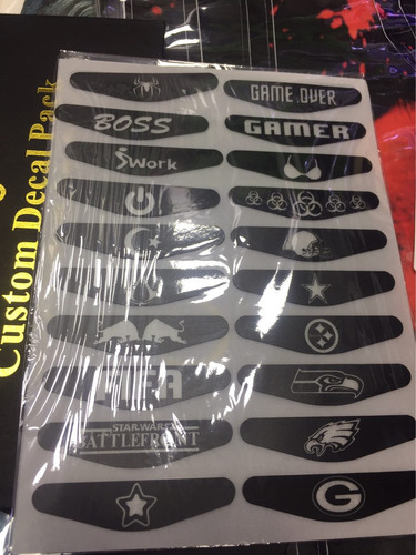 5 stiker para decorar controles de ps4