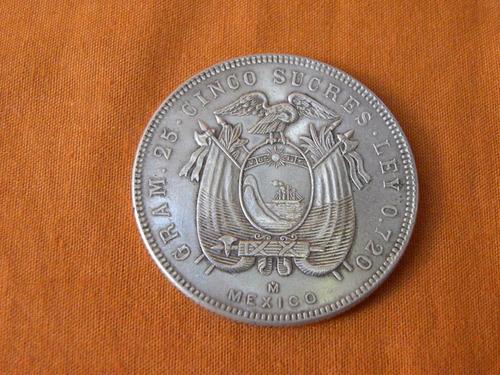 5 sucres 1944   mexico
