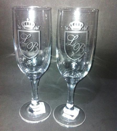 5 taça de champanhe personalizada a jato - tudo do seu jeito