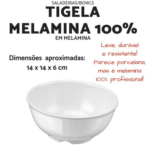 5 tigela para caldos 400 ml em melamina 100% ref 5400