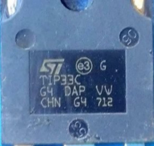 5 transistor tip 33c grande   original pronta entrega