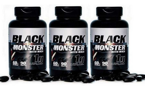 5 tribulus terrestris + maca 1000mg 90tabs blackmonster