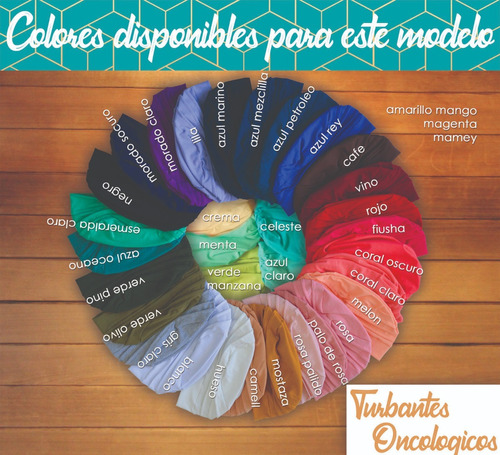 5 turbantes oncologicos modelo coco mas envio incluido