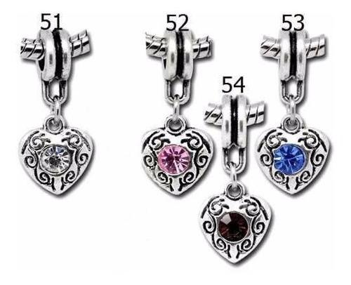 5 und pingente berloque para pulseira estilo pandora