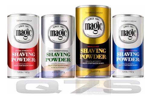 5 unds de polvo depilatorio magic shaving powder