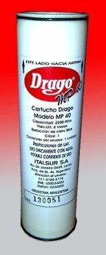 5 unidades cartucho repuesto filtro purificador agua drago