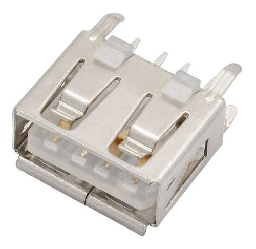 5 unidades conector usb pioneer original leitoso