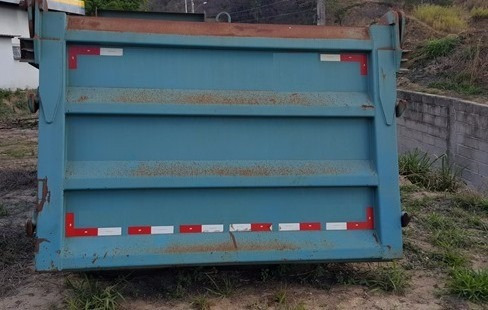 5 unidades de caçambas rossetti 6x4 16 metros (semi novas)