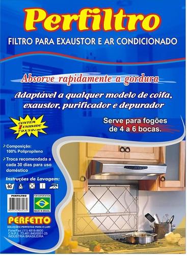 5 unidades filtro suggar exaustor
