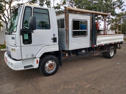 5 unidades ford cargo 816 ano 2013/2013 cabine suplementar