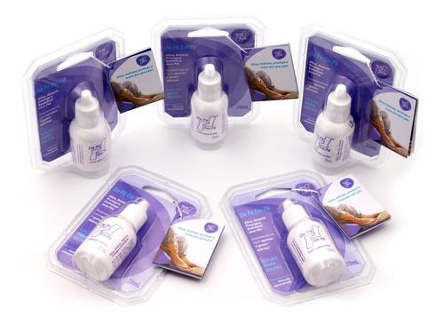 5 unidades locao de pe em pe trata protege amacia os pes