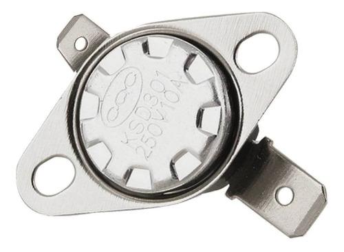 5 unidades termostato 180 graus 180ºc ksd301 10a normalmente fechado nc