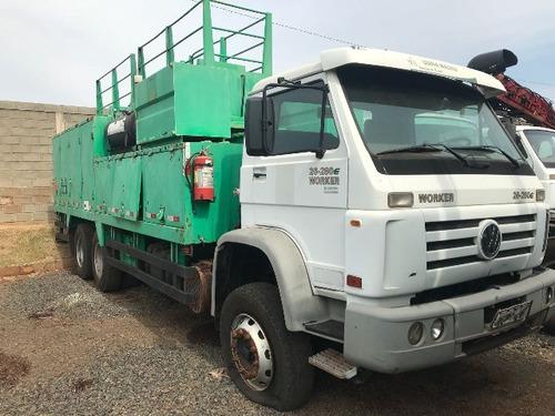 5 unidades volkswagem 26-260 6x4 comboio ano 2012/2012