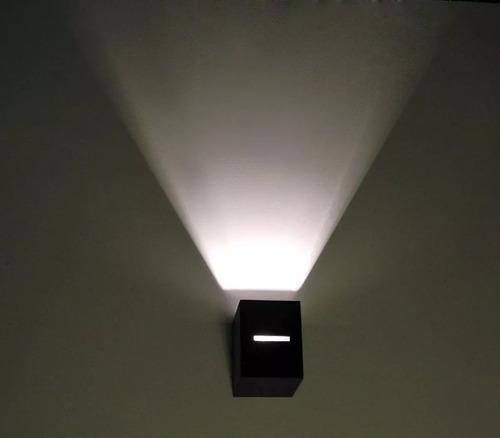 5 unidireccional difusor pared exterior / 5 led g9 5w 3002