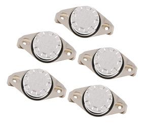 electronics-salon 10/pcs KSD301/Normalmente Cerrar NC 80//°C termostato interruptor de temperatura del disco bimet/álico.