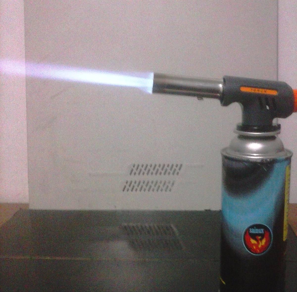 5 varillas para soldar aluminio sin m quina solo con for Tanque de gas butano