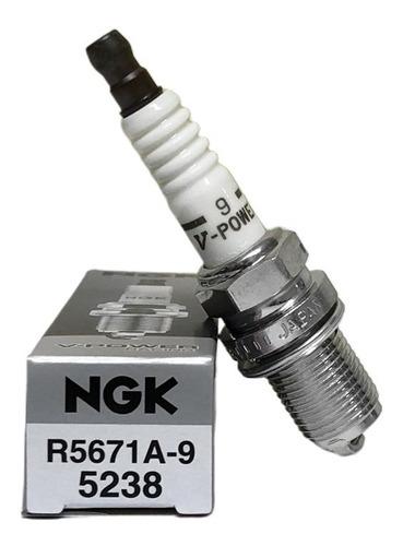 5 velas de ignição marea ngk v-power #5671a/9 turbo grau 9